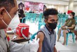 Cakupan vaksinasi di daerah penyelenggara PON XX Papua sudah 60 persen lebih