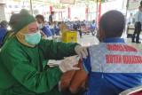 1.252 warga binaan pemasyarakatan Rutan Makassar terima vaksin COVID-19