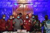 Razia Lapas Surabaya temukan senjata tajam rakitan