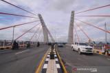Uji coba, Jembatan Sei Alalak resmi dibuka