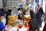 90,25 persen warga binaan pemasyarakatan di Sulsel sudah disuntik vaksin COVID-19
