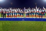 Hasil Pon Papua: Papua dan Bali berbagi emas Kriket Super Sixies