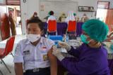 1.000 pelajar SMP di Medan divaksin jelang PTM