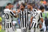 Liga Italia, Juventus petik kemenangan kandang pertama