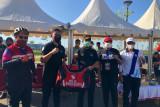 Kadispora Sulsel monitoring atlet di ajang Sulsel Ride Championship