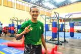 PON Papua-Atlet wushu Kalbar perkuat latihan kardio jelang pertandingan