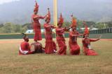 Tari Pa'gellu Toraja warnai pertandingan bisbol PON Papua