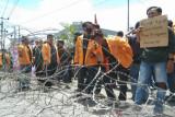 Mahasiswa unjuk rasa peringati dua tahun kematian Randi dan Yusuf