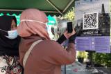 Pengunjung Candi Borobudur selama uji coba belum signifikan