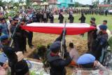 Anggota Brimob yang gugur di Papua dimakamkan TMP Aceh Tamiang