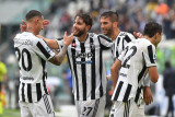Juventus raih kemenangan di kandang pertama