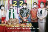 Wali Kota - Wawali Kota Manado Ibadah Syukur di GMIM Via Dolorosa