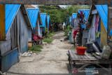 Tiga Tahun Penyintas Bencana Tsunami Hidup di Huntara