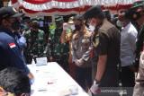 Polda Sulawesi Selatan musnahkan 74,9 kg sabu-sabu dan 38.604 butir ekstasi