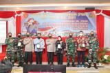 Kapolda Kaltara buka Focus Group Discussion TNI-Polri TA.2021