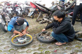 Polres Karanganyar periksa 29 sepeda motor