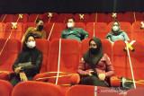 Penonton bioskop di Sampit belum ramai karena terkendala aturan vaksinasi
