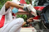 Honda Sulteng berikan oli dan safety check gratis dalam rangka HUT ke-43 Kota Palu