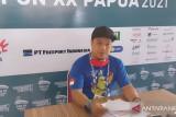 PON XX Papua - Juara dunia berebut emas panjat tebing nomor Speed WR Putra