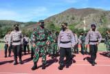 Panglima TNI tekankan gangguan sekecil apa pun dalam pengamanan PON