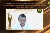 Kementerian ESDM beri penghargaan untuk pelaku