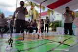 Polresta Mataram menggelar latihan parsial pengamanan WSBK 2021