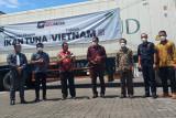 Kementerian Perdagangan lepas ekspor 27 ton ikan tuna sirip kuning ke Vietnam
