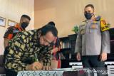 Polres Sukabumi Kota mempertemukan pengurus ormas yang sempat bertikai