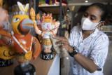 Suvenir maskot PON Papua