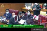 DPR RI sahkan RAPBN 2022 menjadi Undang-Undang