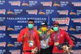 Hasil dayung Jumay, Riau, Sultra, dan Papua tambah satu emas