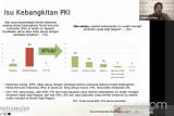 Survei SMRC: Mayoritas warga tidak percaya PKI bangkit