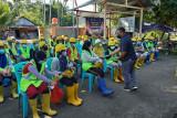 Ratusan pekerja padat karya di Sulawesi Barat ikuti program asuransi
