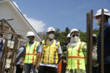 Rekonstruksi Kantor Bupati Mamuju terdampak gempa rampung akhir 2021