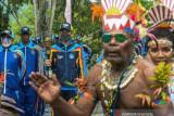 Kirab Api PON Papua Di Kota Jayapura
