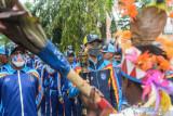 PON XX Papua - Tiga atlet legendaris antar api PON ke kota Jayapura