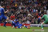 Manchester United bermain imbang 1-1 lawan Everton