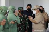 Menhan Prabowo tinjau RS Modular di Merauke sebelum diresmikan Presiden RI