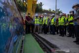 Kunjungan Kerja Komisi VII DPR ke PLTA Sulewana di Poso