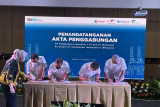 Empat perusahaan BUMN sektor pelabuhan resmi merger menjadi satu Pelindo