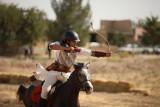Merah Putih berkibar di kejuaraan dunia berkuda sambil memanah