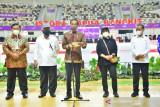 Presiden Joko Widodo resmikan Gedung Istora Papua Bangkit
