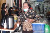 Sekolah Kopi Gemawang Temanggung gelar acara mengopi gratis di pasar tradisional