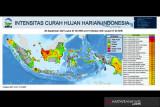 BMKG prakirakan hujan lebat landa beberapa daerah di Indonesia