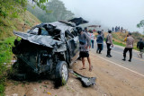 Mobil terjun ke jurang sedalam 30 meter di Pusuk Sembalun, satu meninggal
