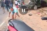 Video kondisi mobil masuk jurang sedalam 30 meter di Pusuk Sembalun