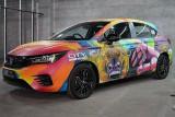Ini tampilan Honda City Hatchback RS di IMX 2021