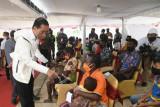 Presiden Jokowi pastikan vaksinasi COVID-19 merata dari Sabang sampai Merauke