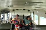 Cerita Kaka Slank melintasi hutan Papua dari udara