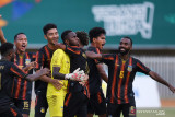 PON XX Papua - Perjalanan Papua dan Kaltim ke semifinal sepak bola putra